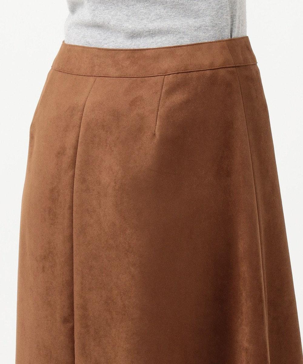 J.PRESS LADIES Peスエード スカート キャメル系