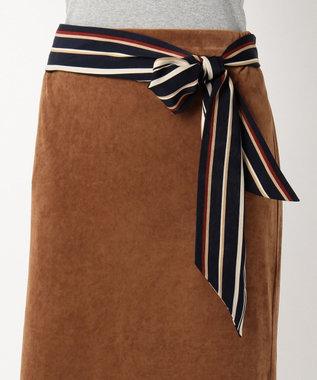 J.PRESS LADIES トリアセベロア スカート キャメル系