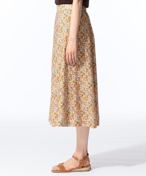 J.PRESS LADIES L 【セットアップ対応】LIBERTY CHESTNUTS プリント スカート