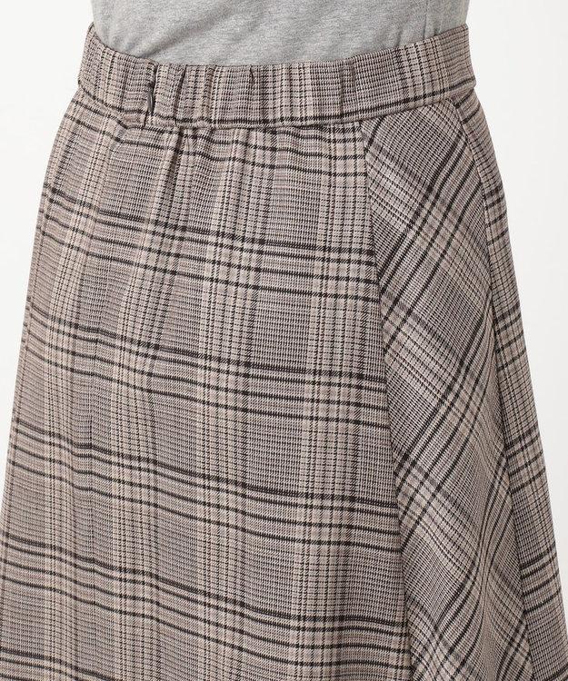 J.PRESS LADIES TWチェック スカート ブラウン系4