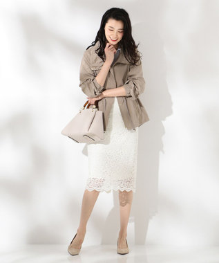 J.PRESS LADIES S 【2019春のWEB限定】ISABEL LACE レース スカート [WEB限定]ホワイト