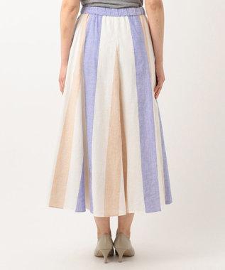 J.PRESS LADIES S 【洗える】SOMELOS MOUTINHO スカート ホワイト系2