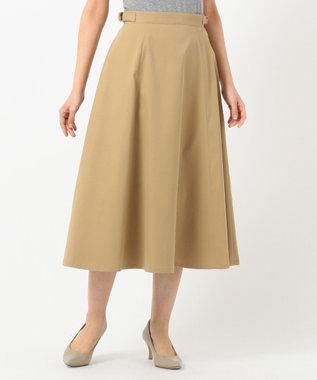 J.PRESS LADIES S 【接触冷感】タスランチノクロス スカート ベージュ系