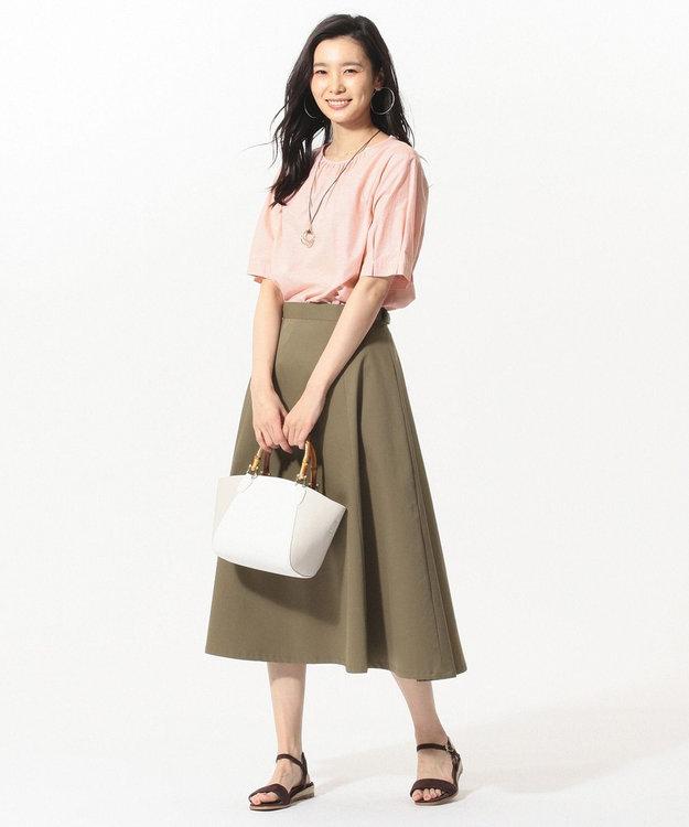 J.PRESS LADIES S 【接触冷感】タスランチノクロス スカート