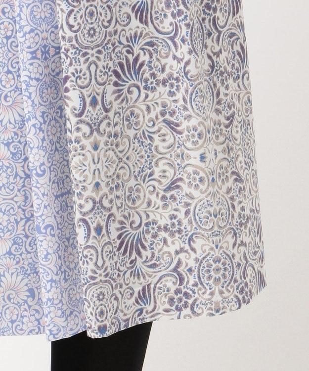 J.PRESS LADIES L 【洗える】フラワーバティックプリント スカート