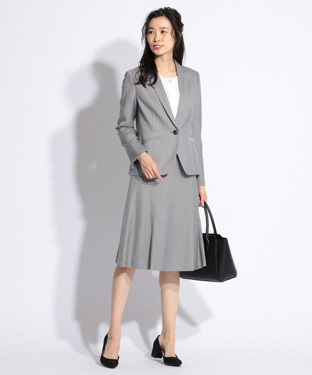 J.PRESS LADIES S 【スーツ対応】シルクレーヨンスーティング スカート