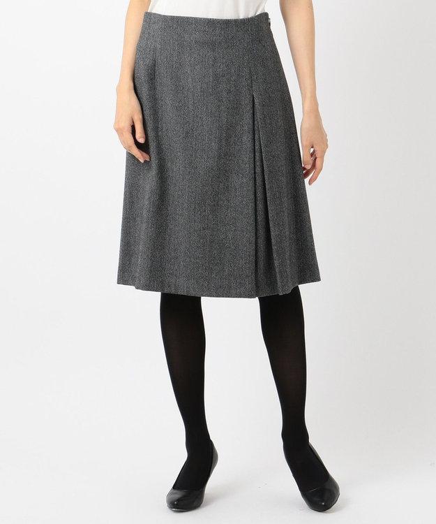 J.PRESS LADIES ウールストレッチツイード スカート