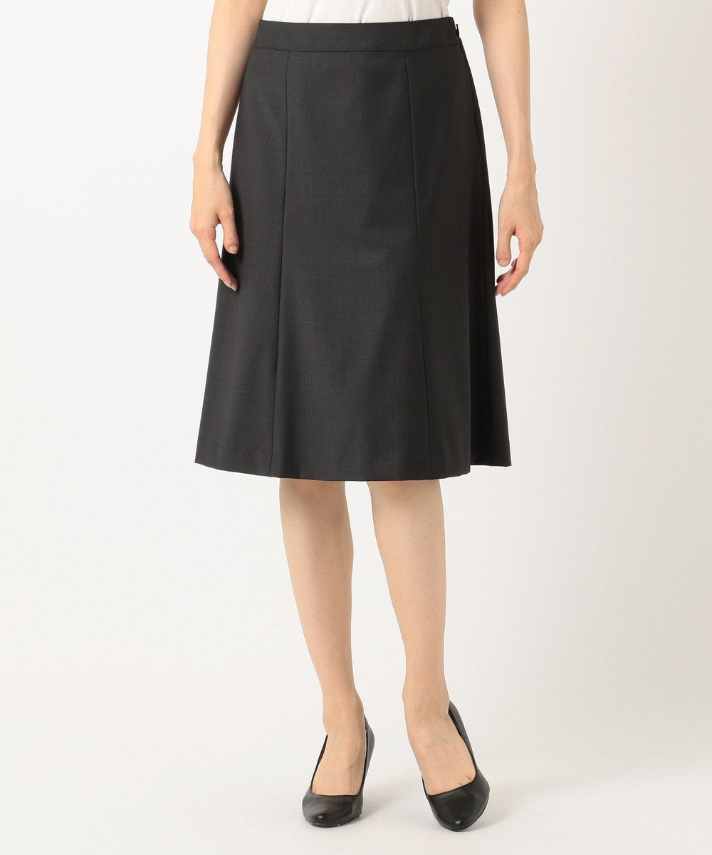 J.PRESS LADIES L 【スーツ対応】BAHARIYE スカート グレー系