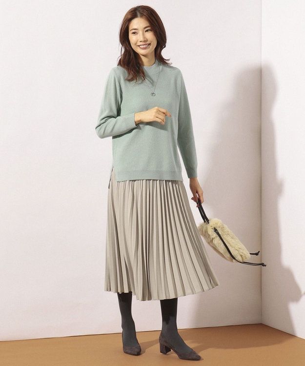 J.PRESS LADIES ファイン プリーツスカート