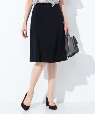J.PRESS LADIES L 【ニオイ菌を抑える】ハイゲージモクロディー スカート ネイビー系