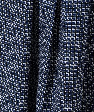 J.PRESS LADIES 【洗える】Geometric Poly Twill スカート ブルー系5