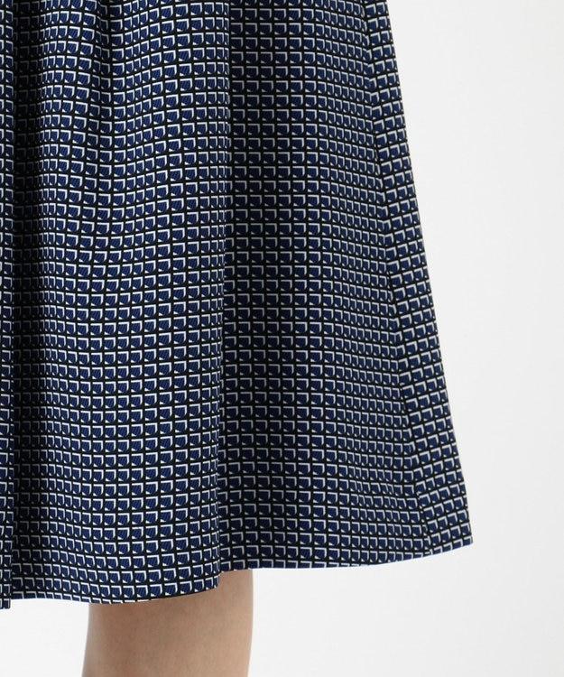 J.PRESS LADIES 【洗える】Geometric Poly Twill スカート