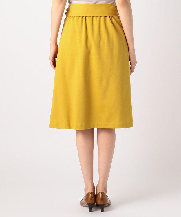 J.PRESS LADIES 【洗える】ツイルジャージー スカート