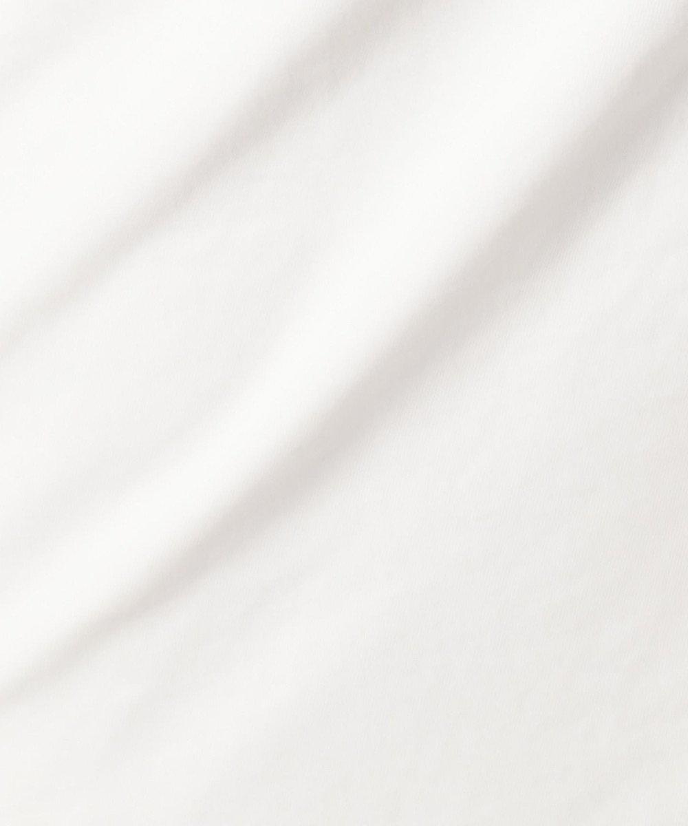 J.PRESS LADIES 【吸水速乾】T/Cリネンツイル スカート ホワイト系