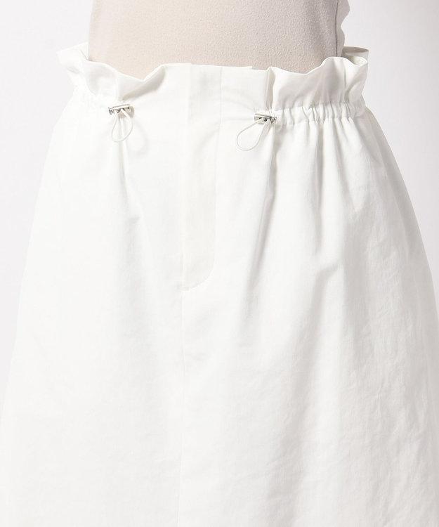 J.PRESS LADIES 【吸水速乾】T/Cリネンツイル スカート