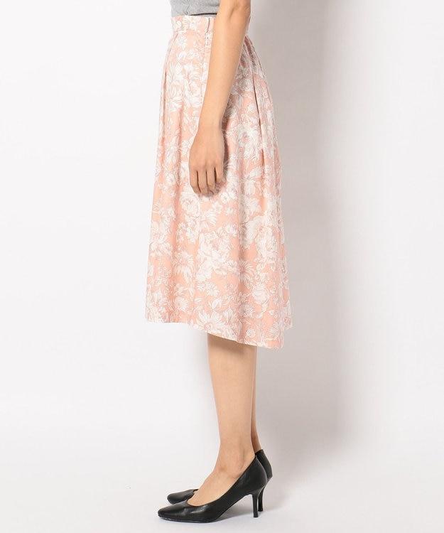 J.PRESS LADIES S 【洗える!】リバティプリント フレアスカート