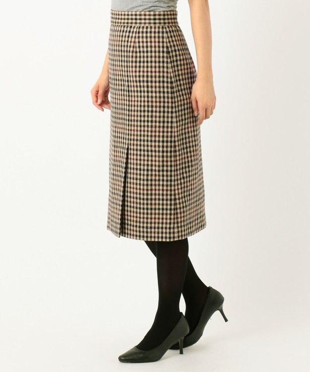 J.PRESS LADIES S 3/3綾ガンクラブチェック スカート