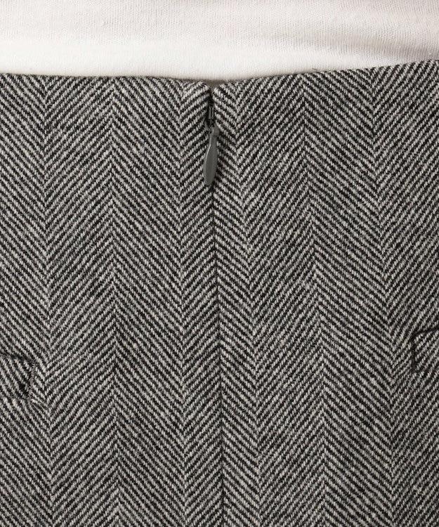 J.PRESS LADIES ワイドヘリンボン スカート