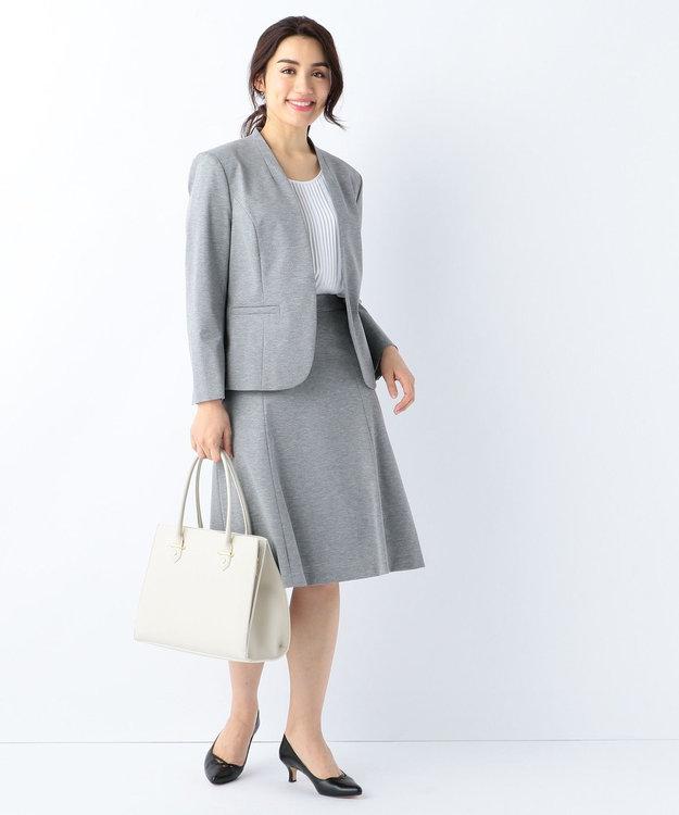 J.PRESS LADIES L 【セットアップ対応】アルファクロスジャージ スカート