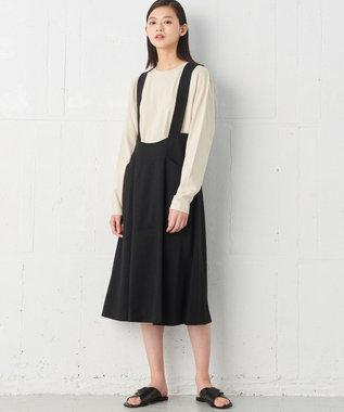 JOSEPH 【JOSEPH STUDIO】キャンバスストレッチ スカート ブラック系