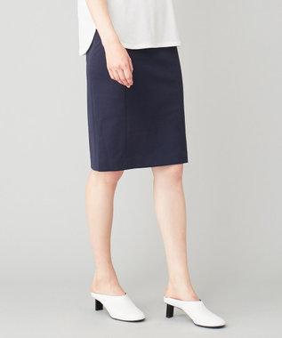 JOSEPH 【洗える】SIXTY / ドライポンチジャージ スカート ネイビー系