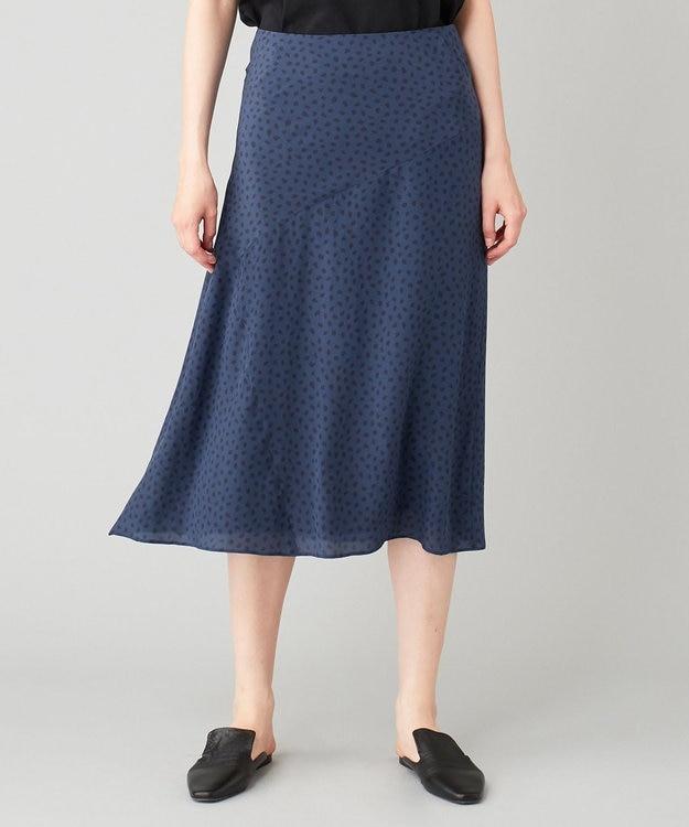 JOSEPH 【洗える】クイルシルク スカート