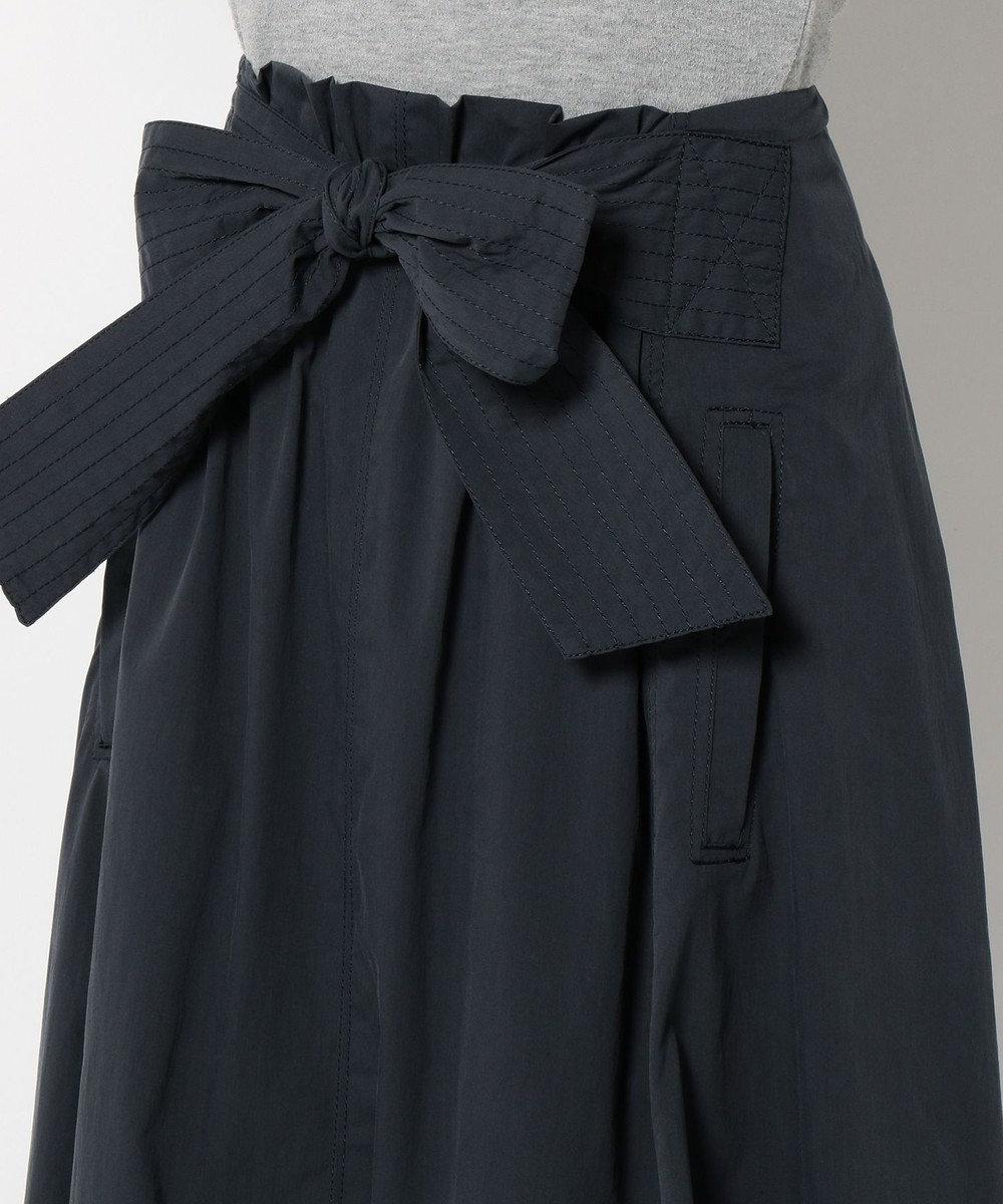 JOSEPH 【17SS】【洗える】 スカート BIO STR CLOTH ネイビー系