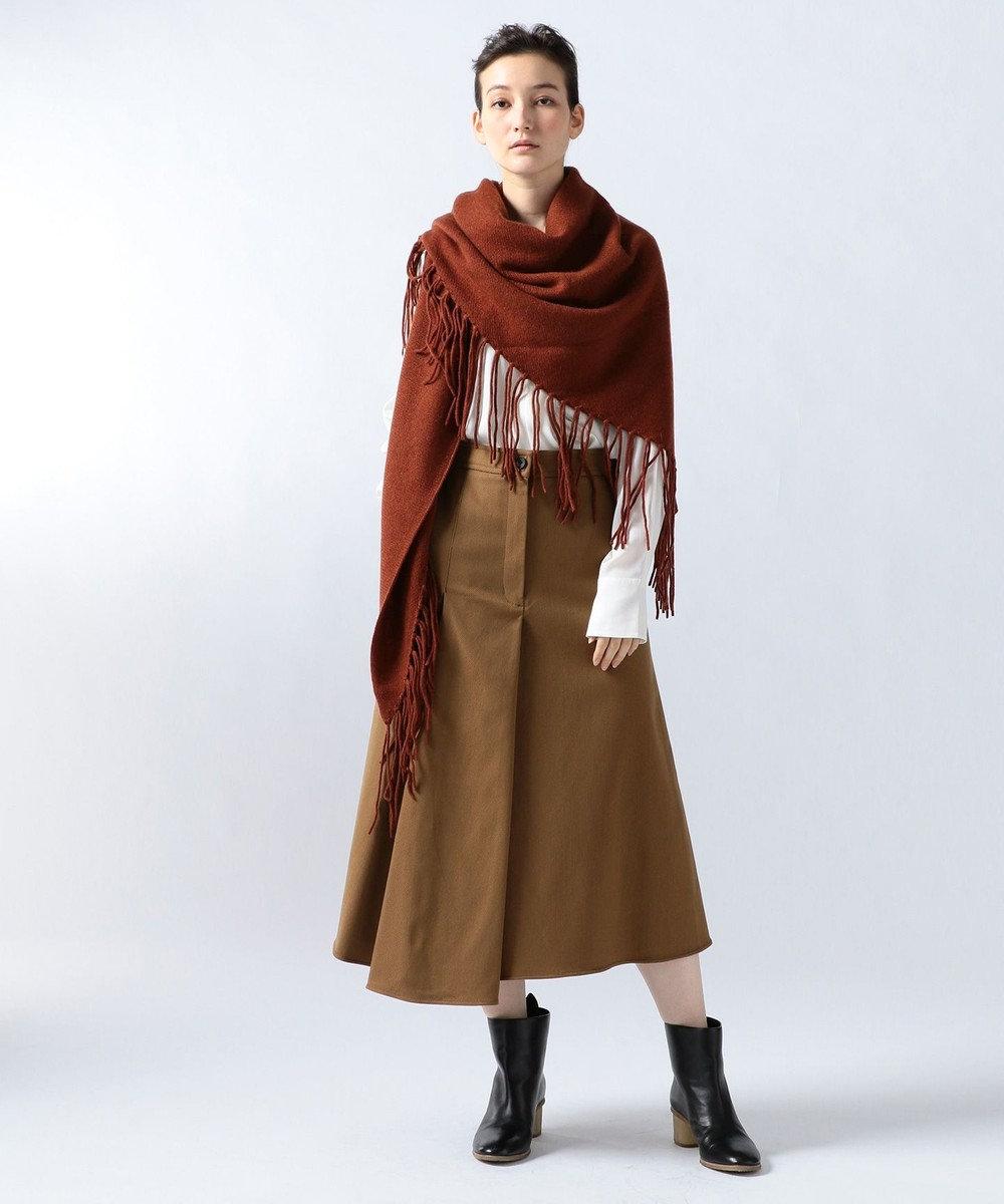 JOSEPH RUGGED TWILL SKIRT スカート ブラック系