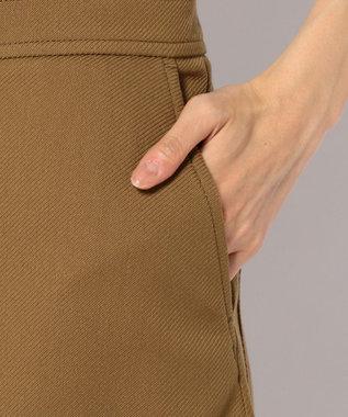 JOSEPH RUGGED TWILL SKIRT スカート キャメル系