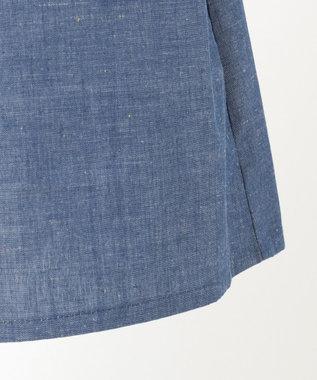 組曲 KIDS 【150-170cm】ダンガリースカート ブルー系
