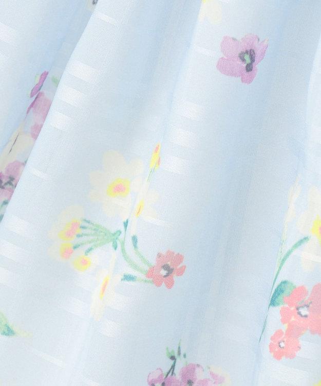 組曲 KIDS 【110-140cm】シアーパネルフラワー スカート