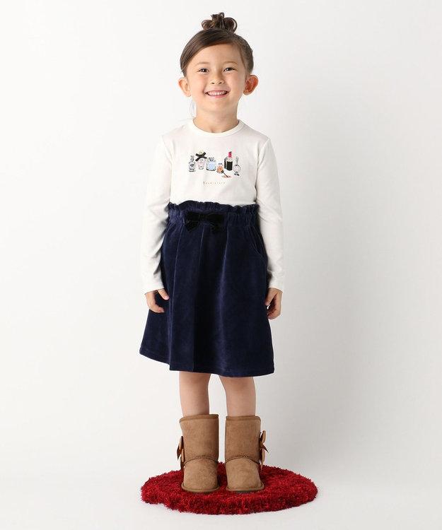 組曲 KIDS 【TODDLER】ストレッチコーデュロイ スカート