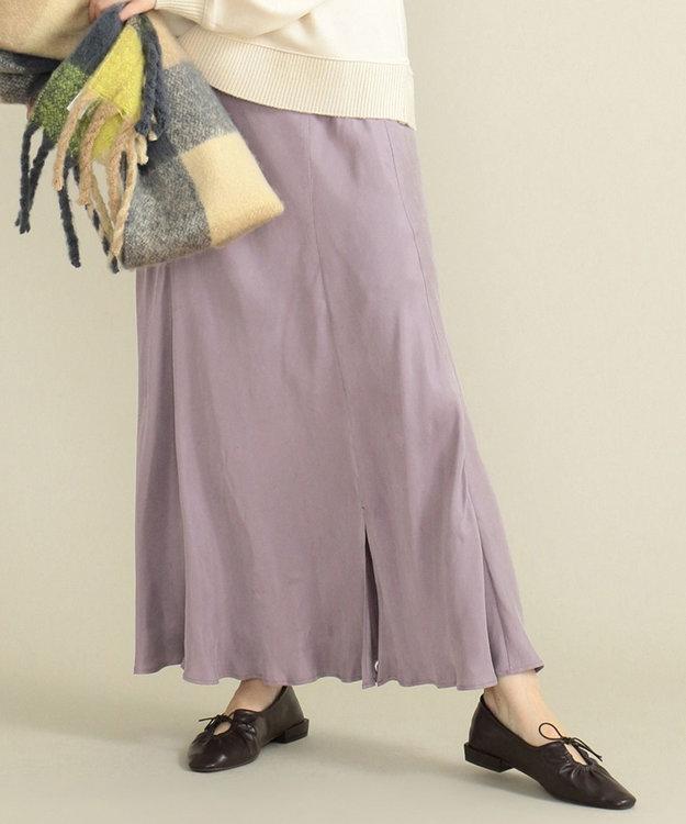 SHARE PARK LADIES フィブリルギャザーフレアスカート