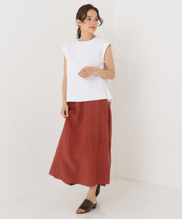 SHARE PARK LADIES テンセルリネンAラインロング スカート