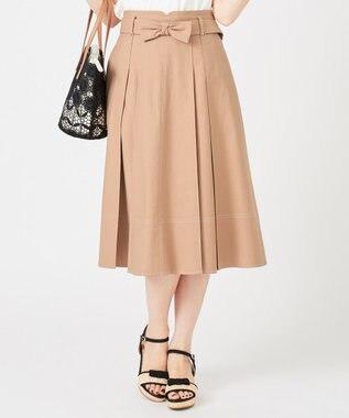 Feroux 【Ray6月号掲載】キャンディリボンチノ スカート キャメル系