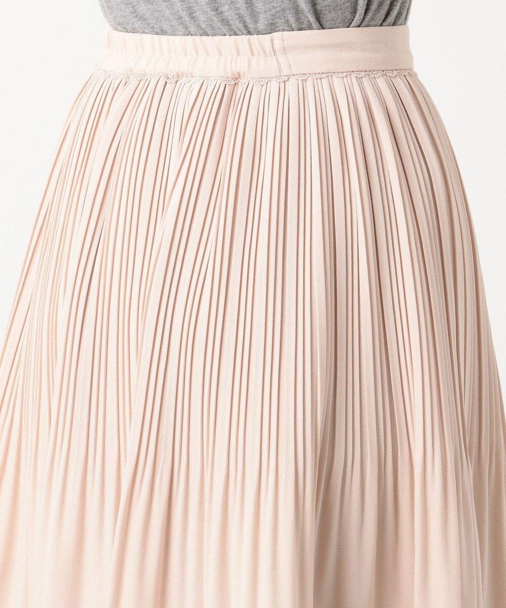 Feroux 【セレモニー】クリスタルプリーツスカート ピンク系