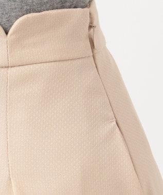 Feroux 【セットアップ対応】レディポイントドビー スカート ベージュ系
