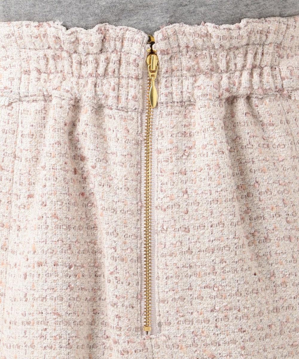 Feroux 【Ray12月号掲載】リボンヤーンミックスツイード スカート アイボリー系3