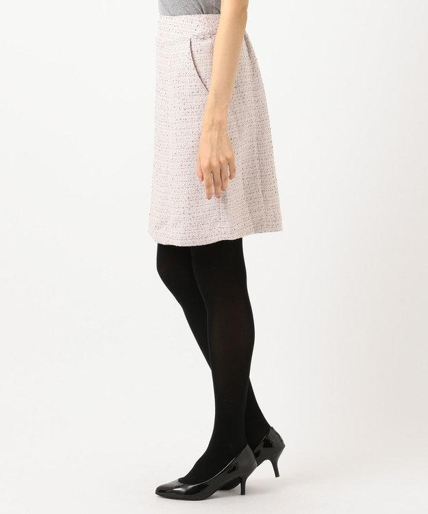 Feroux 【Ray12月号掲載】リボンヤーンミックスツイード スカート