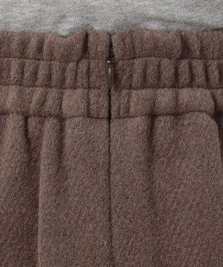 Feroux 【Ray12月号掲載】レースアップコンパクト スカート キャメル系