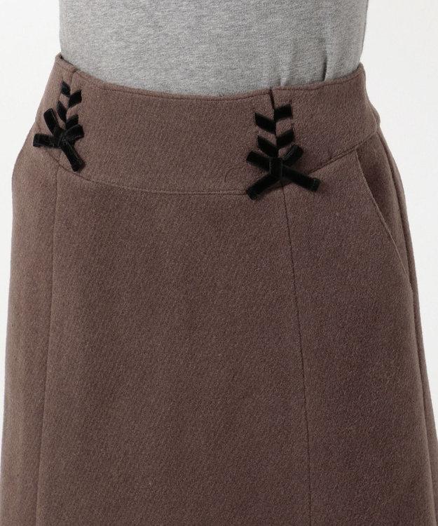 Feroux 【Ray12月号掲載】レースアップコンパクト スカート