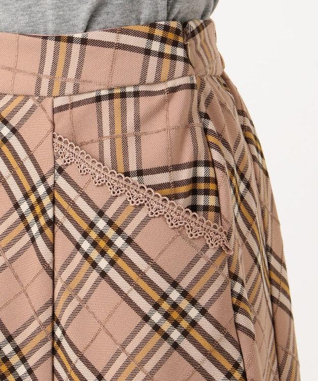 Feroux 【Ray12月号掲載】モールヤーンチェック スカート