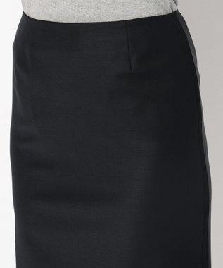 Paul Smith 【セットアップ】ソリッドブラックテーラリング スカート ネイビー系