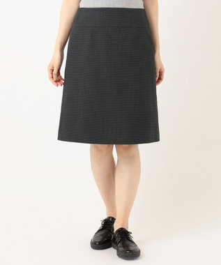Paul Smith 【セットアップ対応】コットンウールドビー テーラリング スカート ブラック系