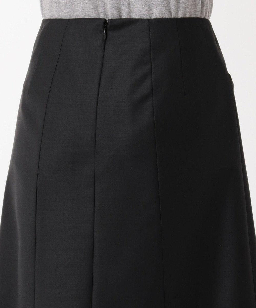 Paul Smith 【セットアップ対応】ソリッドブラックテーラリング スカート BLACK