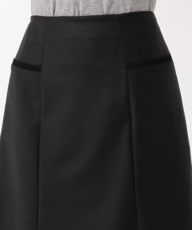 Paul Smith 【セットアップ対応】ソリッドブラックテーラリング スカート