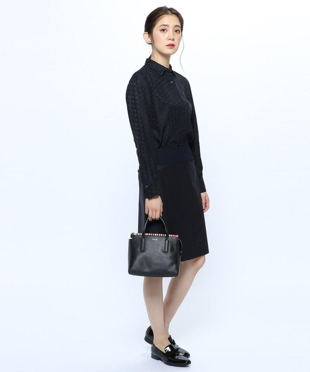 Paul Smith 【セットアップ対応】ソリッドブラック スカート ネイビー系