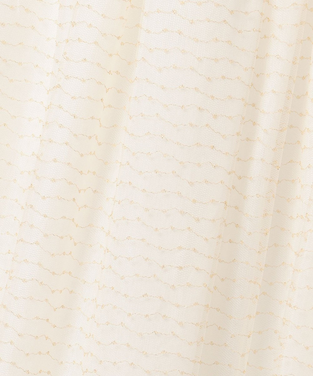 TOCCA BAMBINI 【SCHOOL】ラメチュールチュチュ スカート アイボリー系