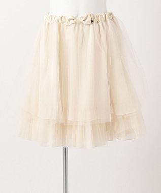 TOCCA BAMBINI 【SCHOOL】チュチュ スカート ベージュ系