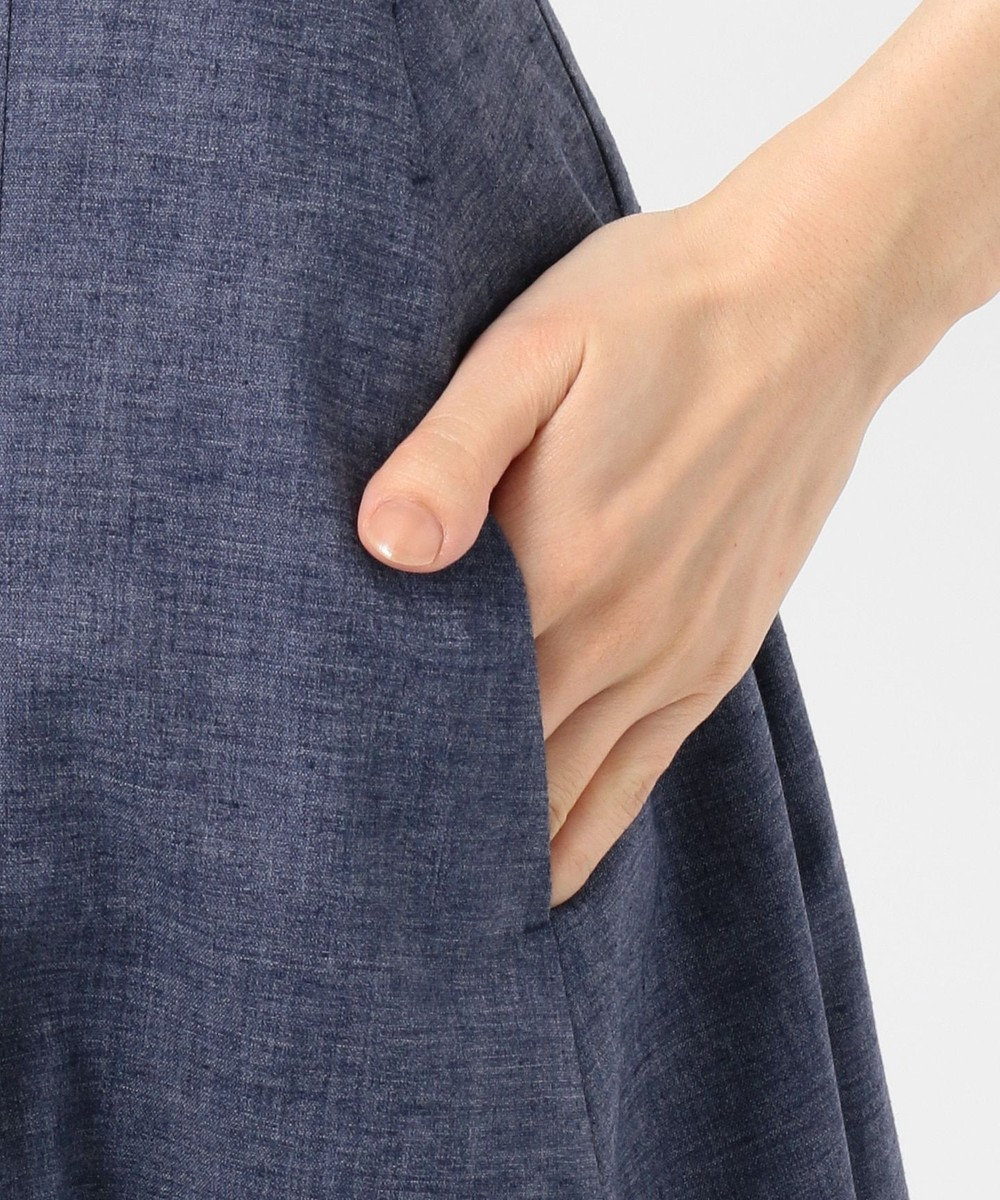 TOCCA 【洗える!】JULIETA スカート ネイビー系
